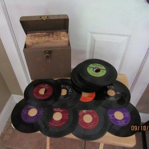Records 45's Collection Vintage 40's-50's